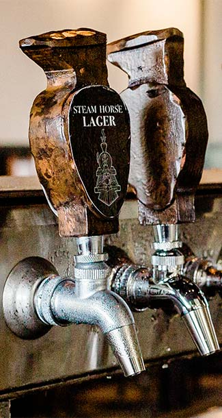 Steam Horse Brewing Co - What's on tap